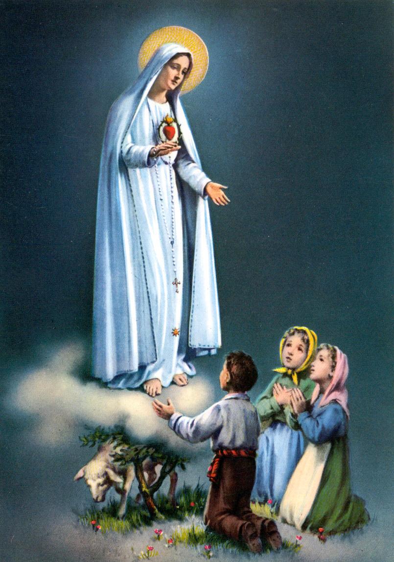 Самые известные явления Девы Марии