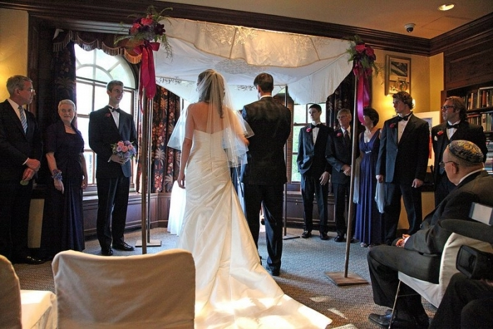 Встреча молодых на свадьбе (сценарий)
