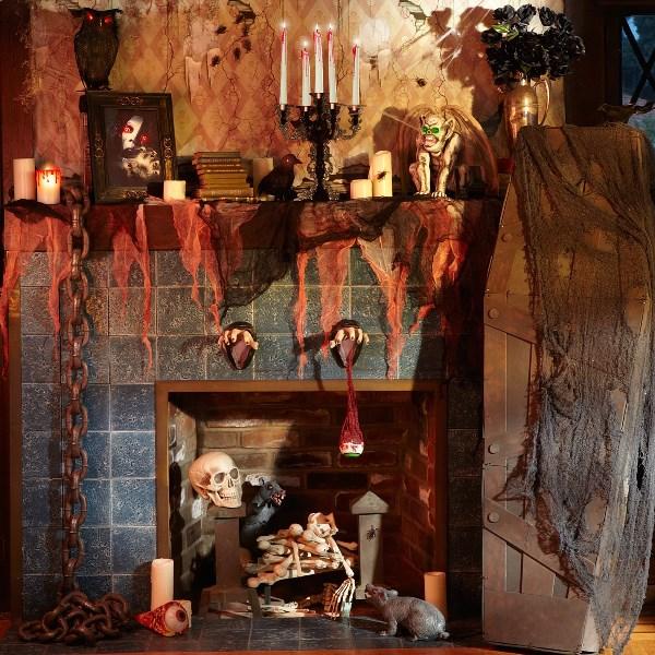 Как устроить жуткий Хэллоуин дома: 5 полезных советов