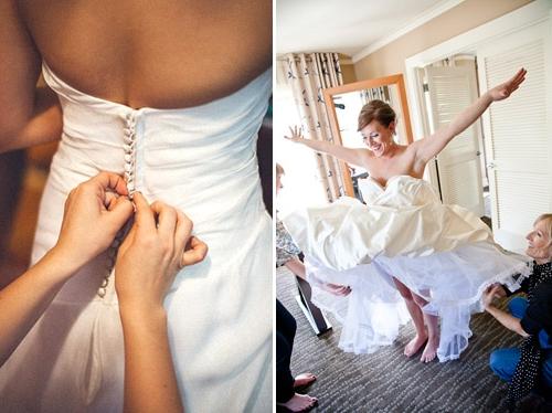 Интересно, а как проходит утро невесты?