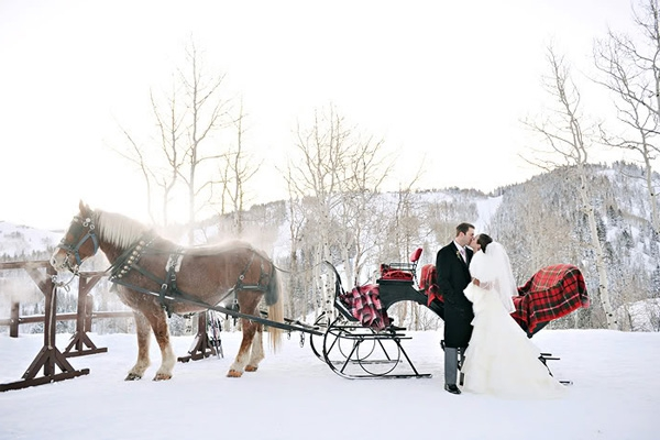 Свадьба зимой - идеи. Плюсы и минусы проведения свадьбы зимой