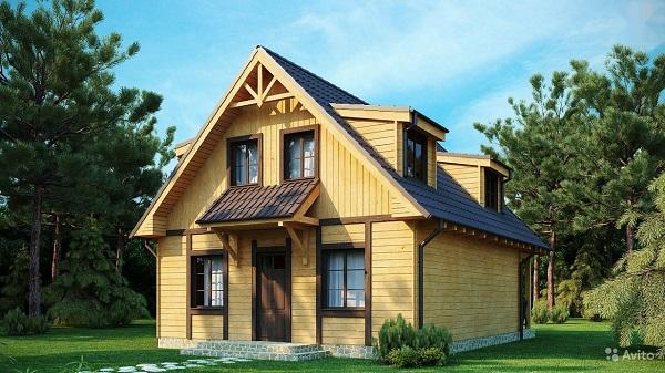 Каркасный дом 1