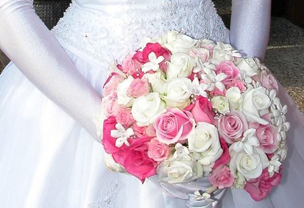 Составить букет на свадьбу