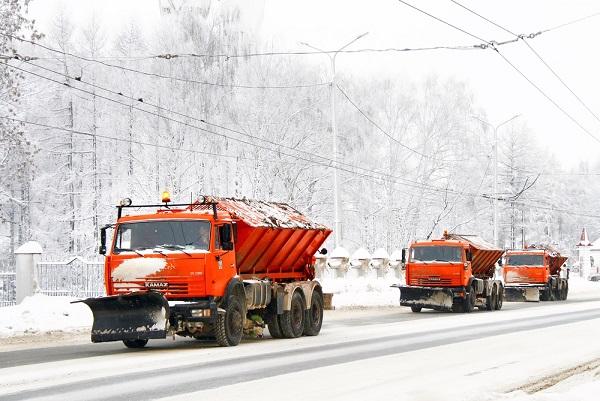 Вывоз снега 1