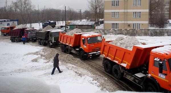 Вывоз снега 3