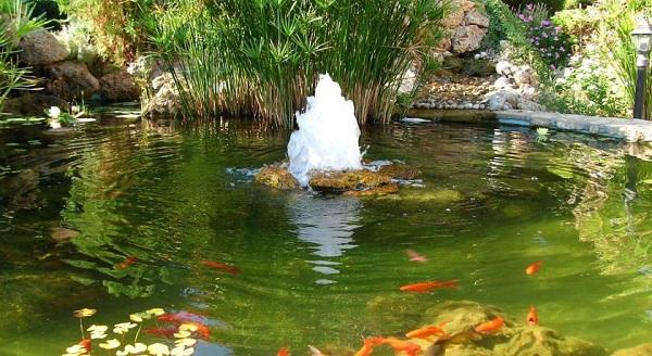 Садовые фонтаны 2