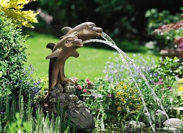 Садовые фонтаны 3