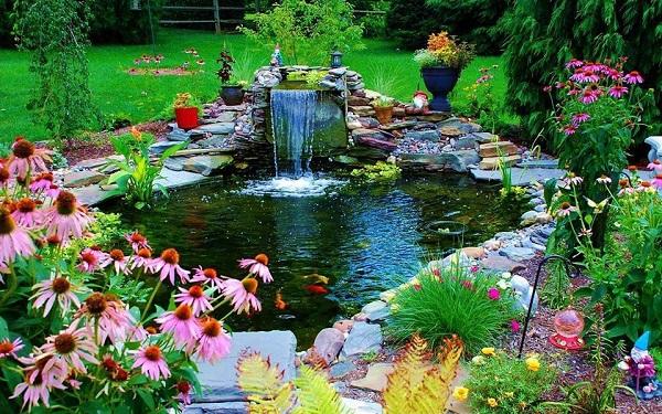 Садовые фонтаны 4