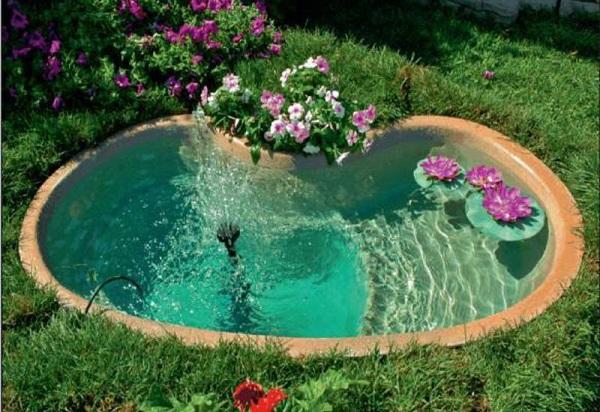 Дизайн участка. Садовые фонтаны