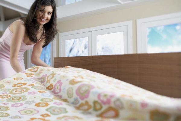 Уход за постельным бельём 1