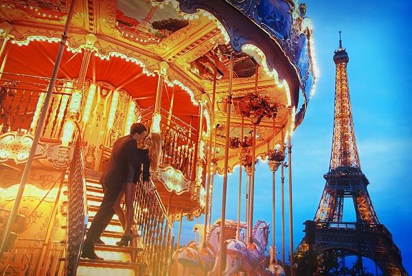 Париж: Поездка в город влюблённых