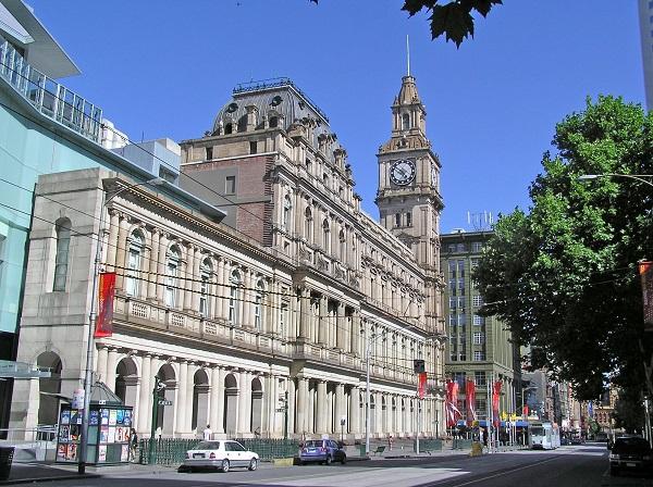 Почтамт в Мельбурне