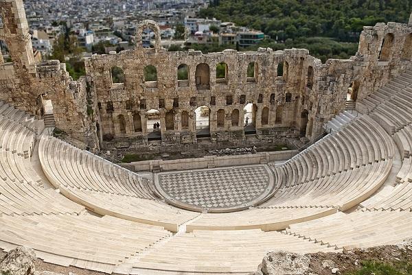 Прогулка по  Афинам 2