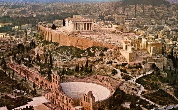 Прогулка по  Афинам 3