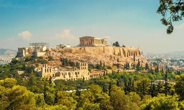 Прогулка по  Афинам 4