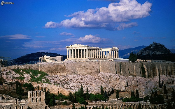 Прогулка по историческим местам в Афинах