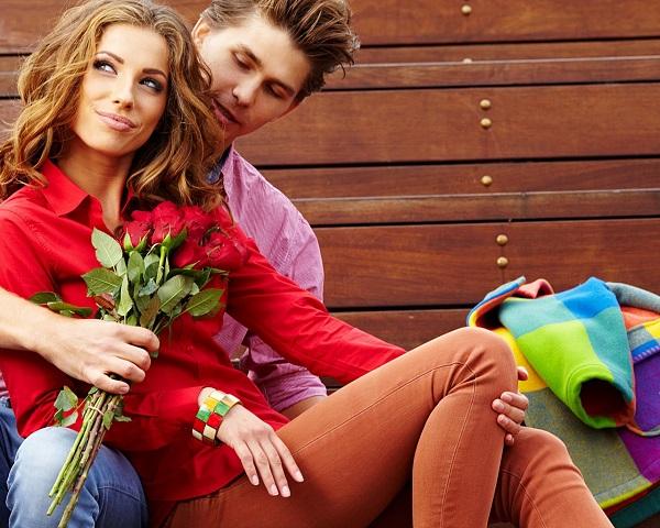 Подарить девушке розы 2