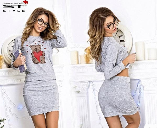 Трикотажные юбки 1