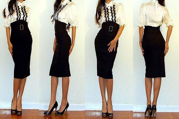 Трикотажные юбки 4