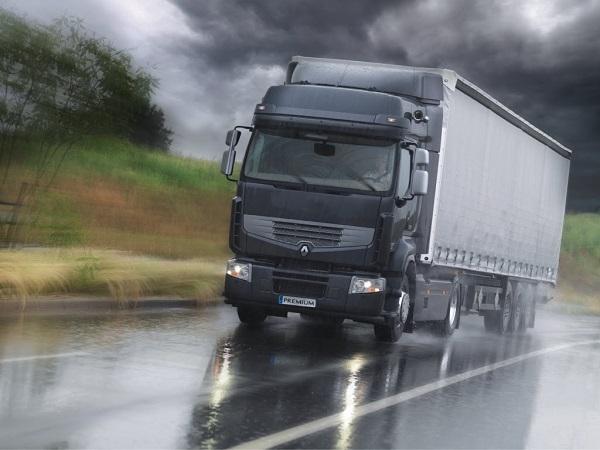Угнали грузовик