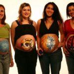 Боди-арт для беременных (20 фото)