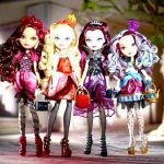 Куклы-персонажи мультипликационного сериала Ever After High